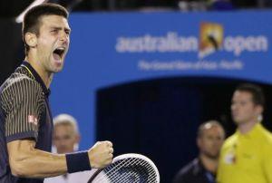 Djokovic se corona en Australia