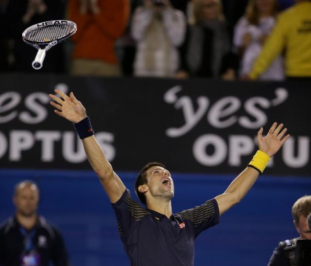 Djokovic arrolla y logra tercer corona