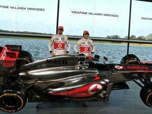 Sergio Pérez y Button ya tienen su monoplaza de McLaren (Fotos)