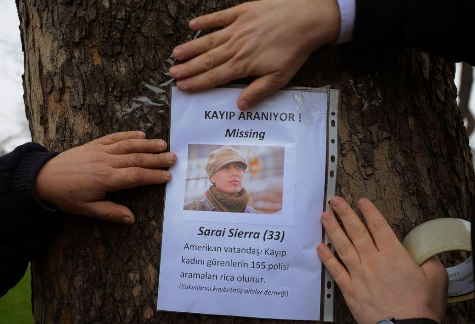 Arrestado el último que vio a Saraí Sierra en Turquía