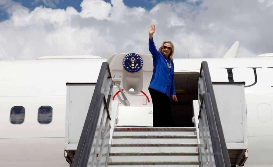 """Fue un honor ser secretaria de Estado"": Hillary Clinton"