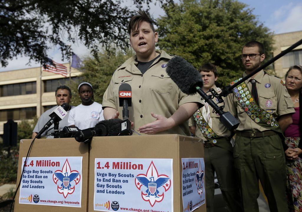 Boy Scouts de EE.UU. votarían mañana sobre veto a los gays