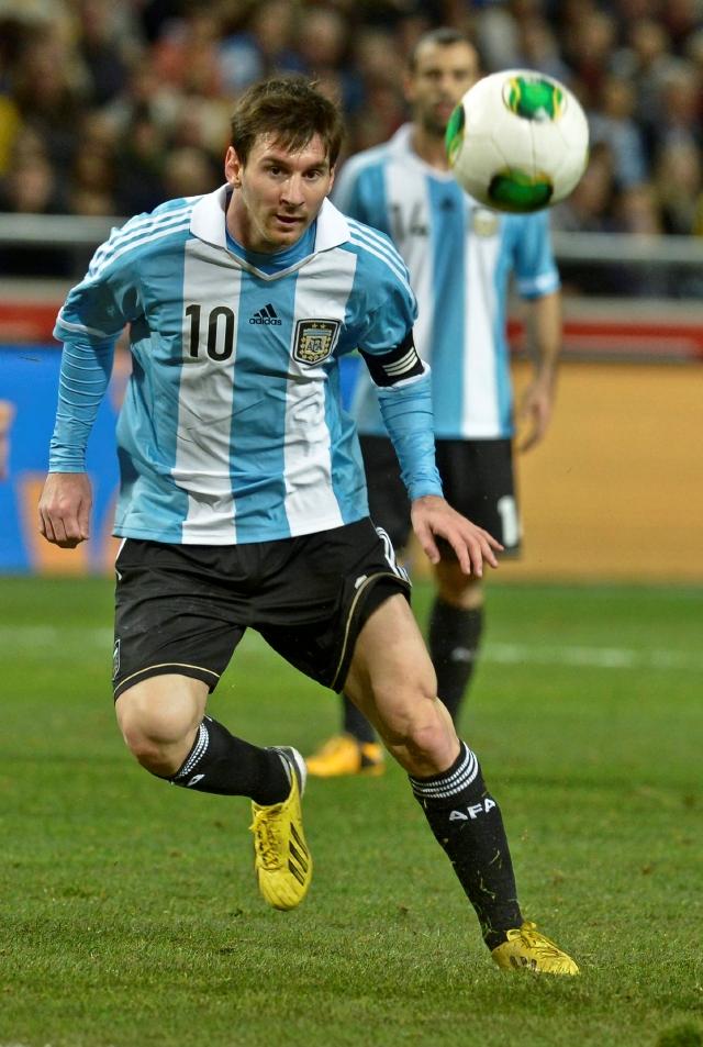 Argentina derrota por primera vez a los suecos