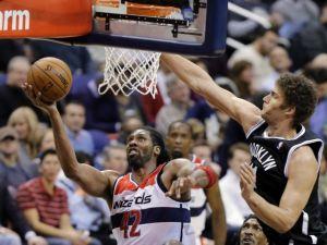 Nene y los Wizards sacan la victoria sobre Nets (Fotos)