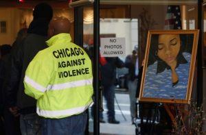 Chicago recuerda a chica muerta a tiros