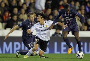 PSG saca ventaja como local en Champions (Fotos)