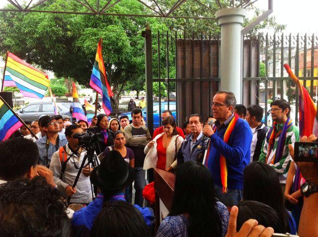 Campaña electoral en Ecuador inicia su cuenta atrás (Fotos)