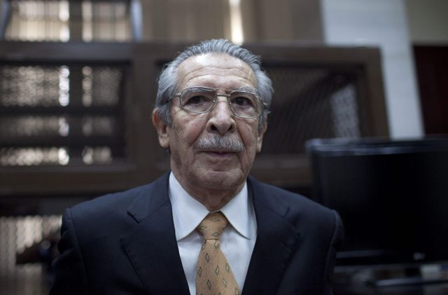 Adelantan juicio de Ríos Montt por genocidio en Guatemala (Fotos)