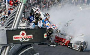 33 heridos en percance de Daytona, ninguno de gravedad (Video)