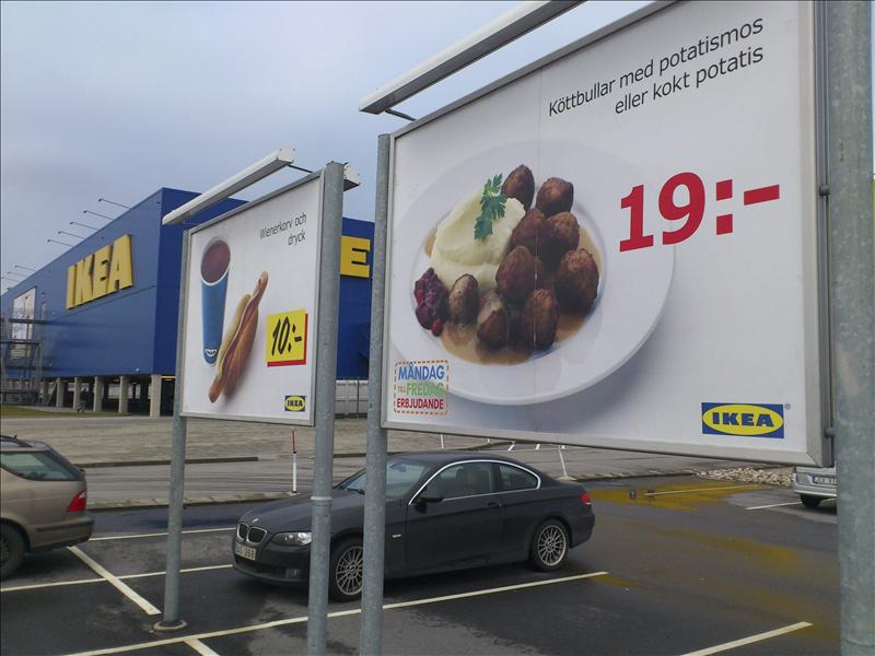 IKEA retira albóndigas con y sin carne de caballo en Europa
