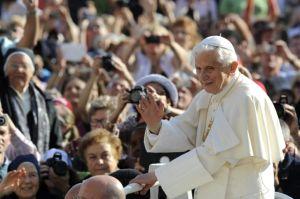 Un evento histórico: se despide Benedicto XVI