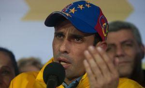 """Capriles tilda de """"gobiernito"""" a gestión de Nicolás Maduro"""