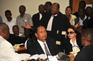 'Baby Doc' ante la justicia haitiana