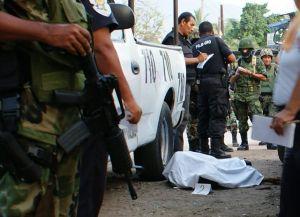 Cinco asesinados por venta de drogas en Distrito Federal