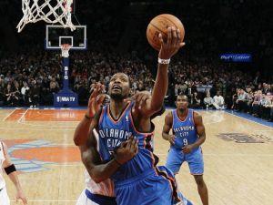 Knicks sufren ausencia de Anthony y caen ante Thunder