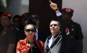 Maduro designa vicepresidente a yerno de Chávez