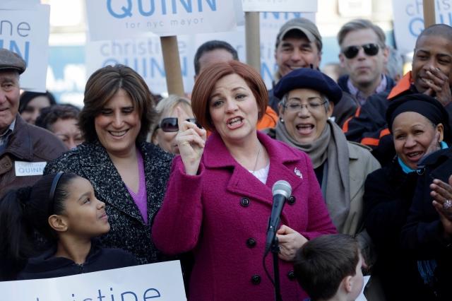 Quinn lanza candidatura a la Alcaldía