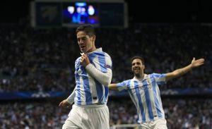 Málaga vence al Porto y prolonga su sueño europeo (Fotos)