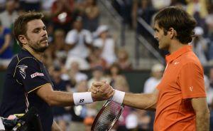 Federer sufre ante Wawrinka en Indian Wells