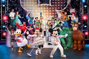 Mickey y Minnie cambian de ritmo en un musical (Fotos y video)
