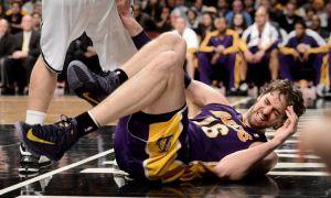 Alarma en Lakers. Gasol sigue con dolor en el pie