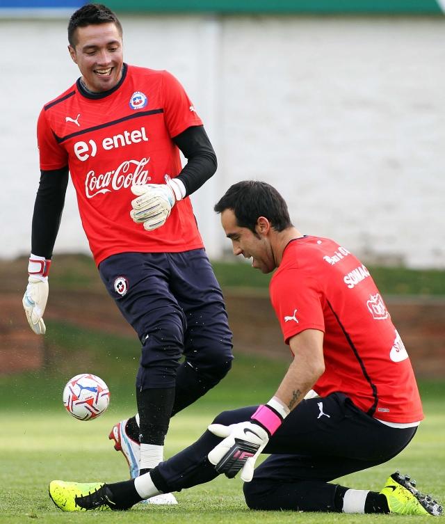 Chile sólo piensa en la victoria