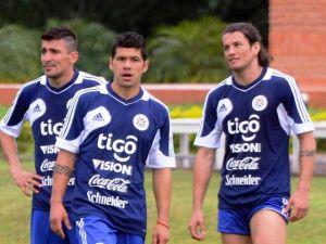 Paraguay pone a prueba a su delantera