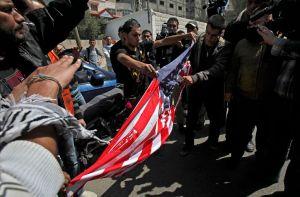 Palestinos protestan por llegada de Obama (Fotos y Video)