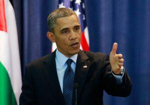 Obama descalifica asentamientos israelíes en Cisjordania