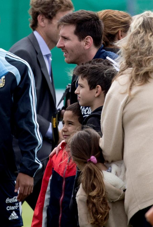 Messi quiere conocer al Papa