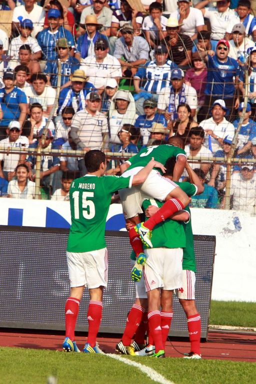 Revive en fotos el partido entre el Tri y Honduras (fotogalería)