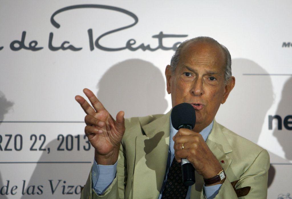 Oscar de la Renta desea que lo entierren en México