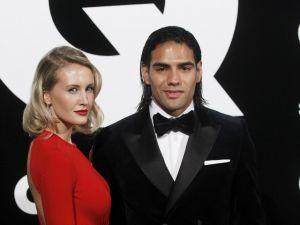 Esposa de Falcao tiene 17 semana de embarazo (Video)