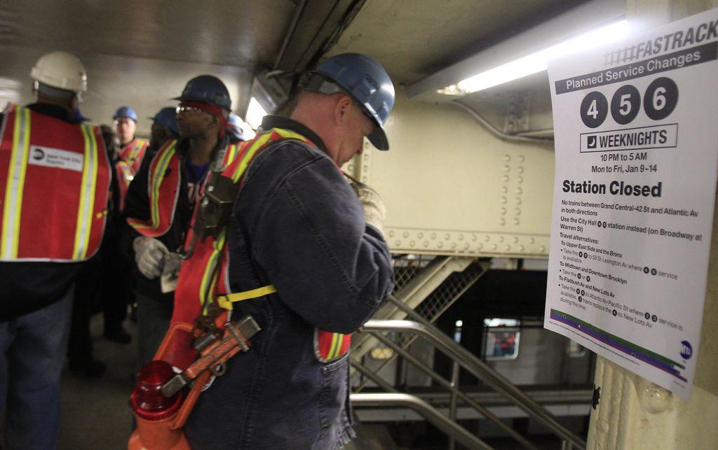 Suspensión de trenes 4, 5 y 6 afecta el Este de Manhattan