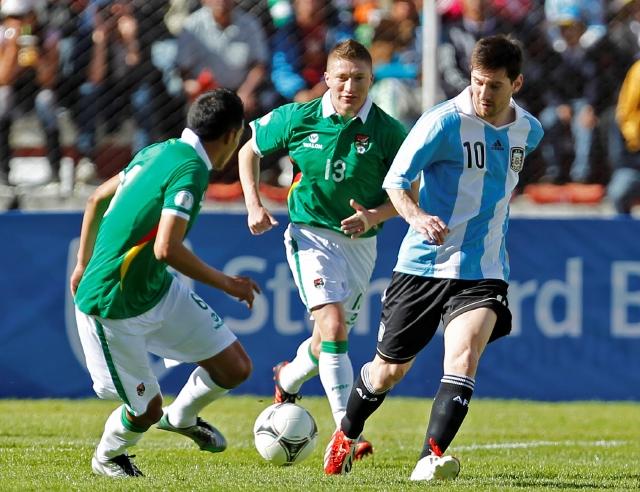 Argentina saca buen empate en la altura