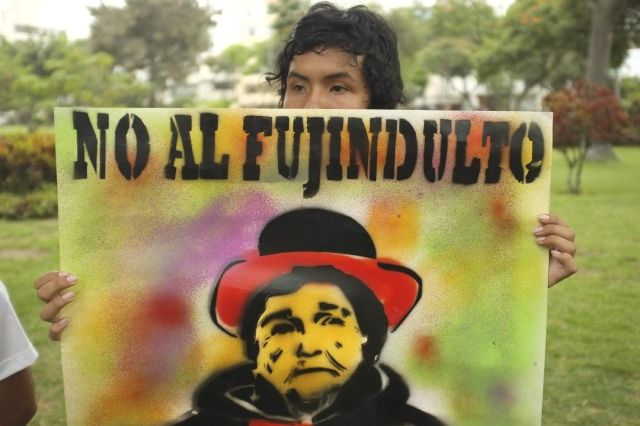 Piden negar indulto a Fujimori