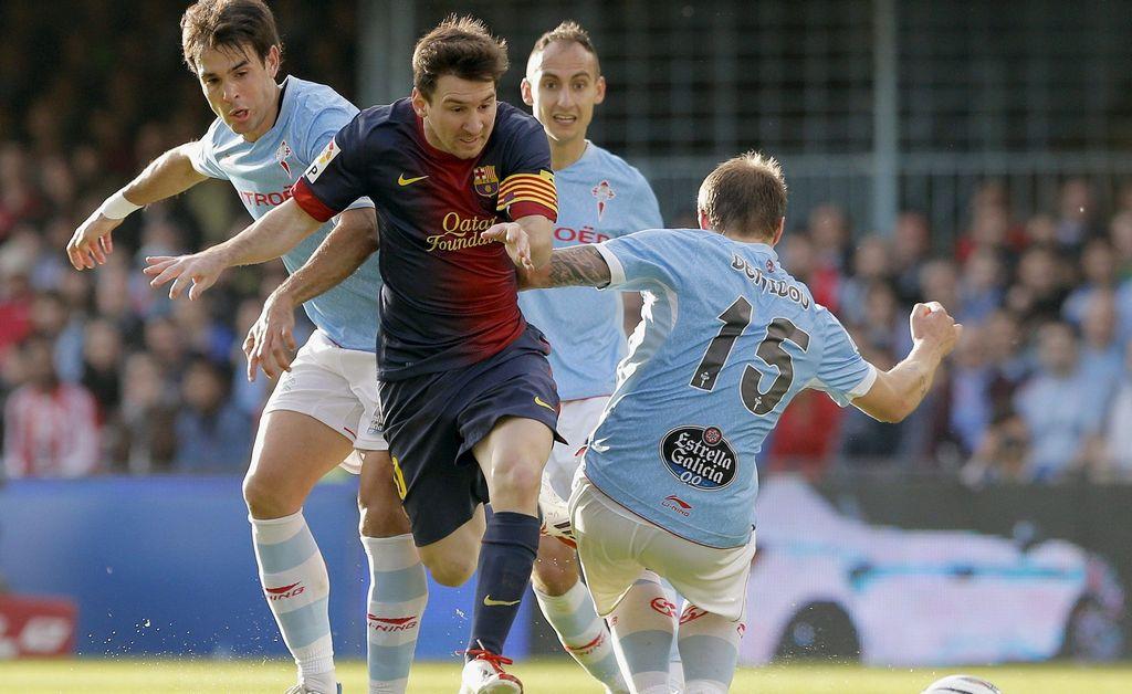 El Barcelona deja dos puntos en Vigo (Fotos)