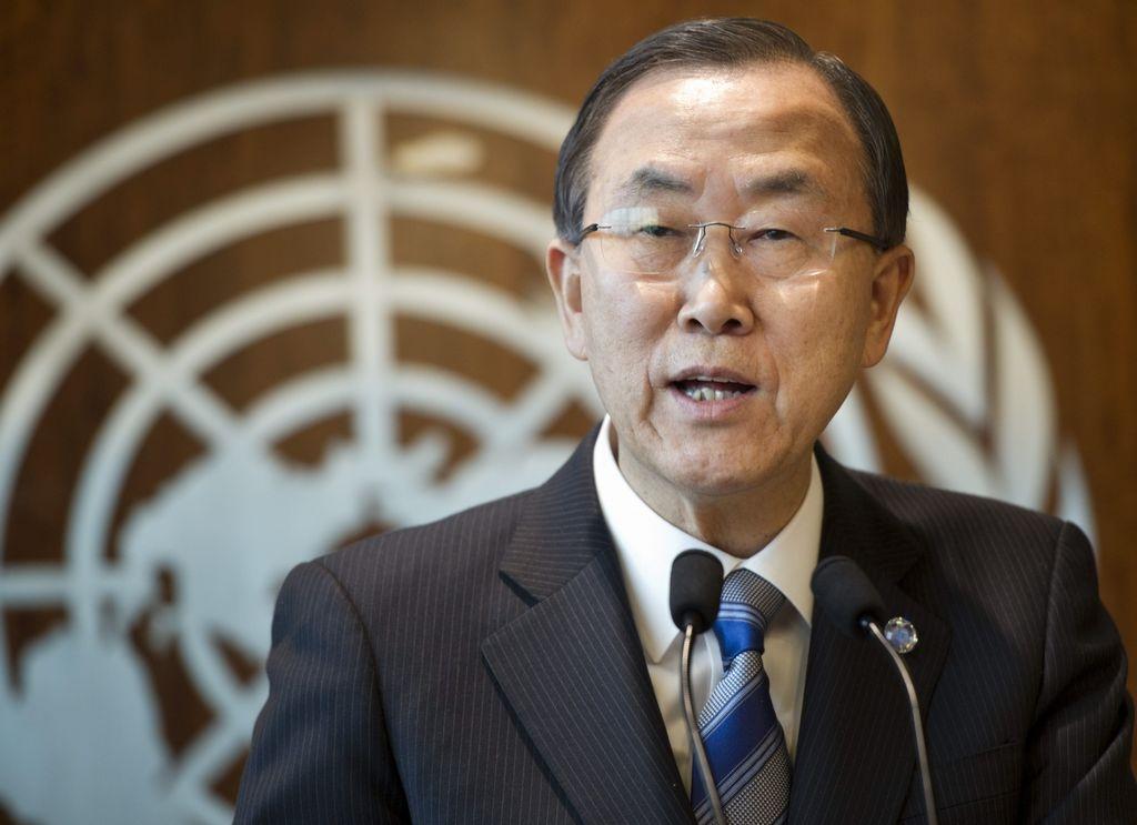 Ban Ki moon insistió en que 'las amenazas nucleares no son un juego'.