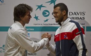 Berlocq y Tsonga abren Argentina-Francia en Copa Davis