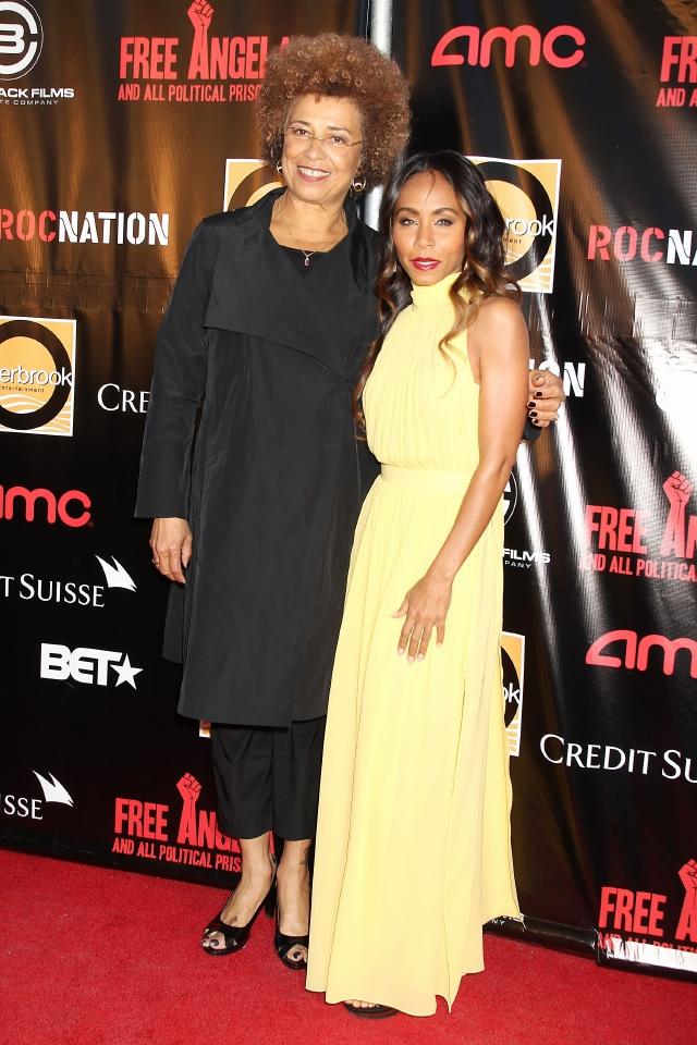 Harlem se viste de gala para  Angela Davis