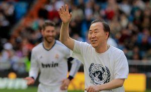 "Ban Ki-moon declara que ""le gusta Casillas"" (Video)"