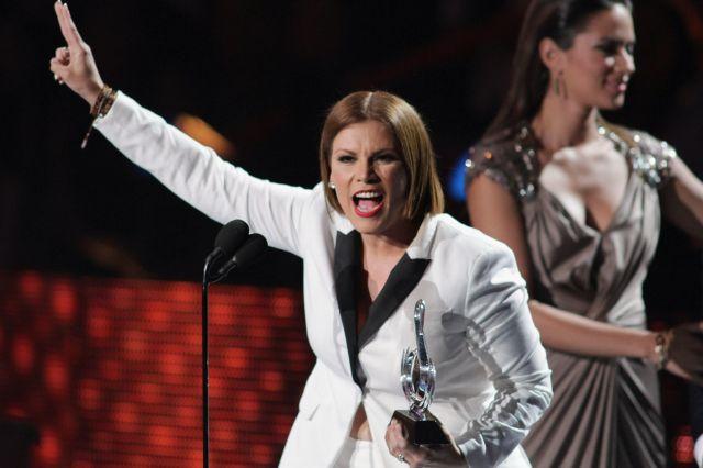 Olga Tañón quiere que Puerto Rico sea el estado 51