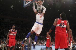 Anthony guía a los Knicks al título divisional (Videos)