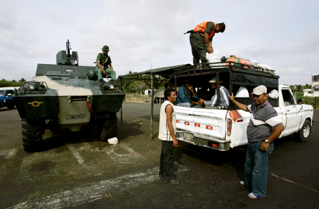 Venezuela cierra frontera por comicios