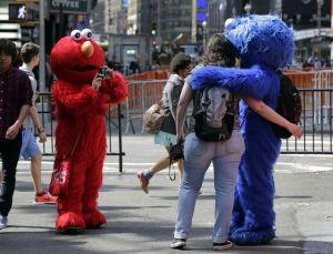 """Arresto del """"Cookie Monster"""" traería cambios a Times Square"""