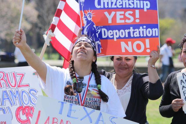 Concentraciones en EE.UU. exigen reforma migratoria