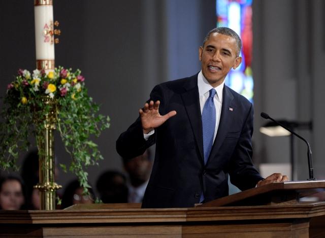 Presidente Obama vive una semana difícil y emotiva (fotos)