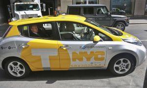 NYC comienza a poner a prueba los taxis eléctricos