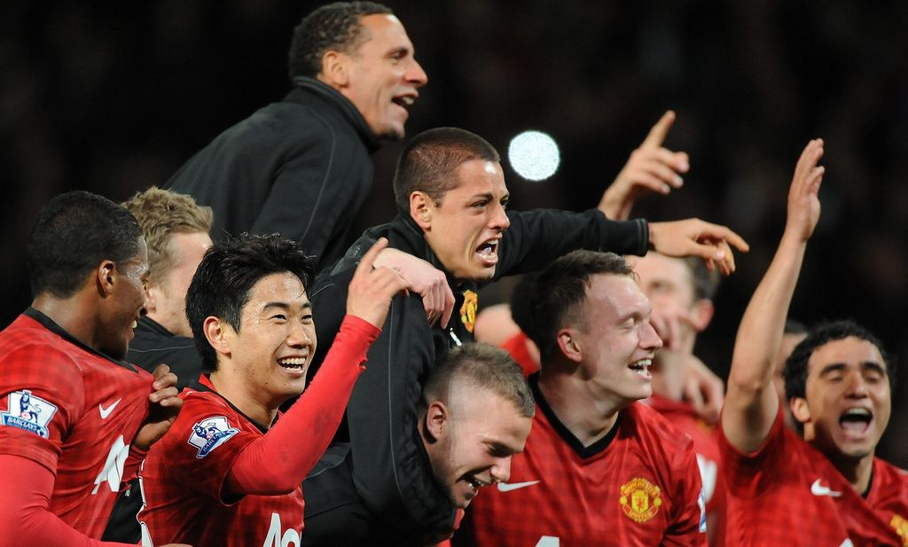 Ferguson cree que el Manchester United puede mejorar