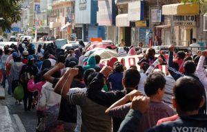 Manifestantes fuera de control en México destruyen sedes políticas